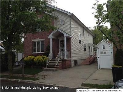 Staten Island Two Family Home For Sale: 306 Bartlett Avenue
