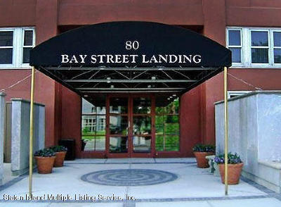 Condo/Townhouse For Sale: 80 Bay Street #Landing