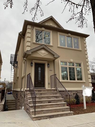 Staten Island Multi Family Home For Sale: 363 Cromwell Avenue