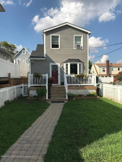 Staten Island Single Family Home Acceptance: 149 Hagaman Place