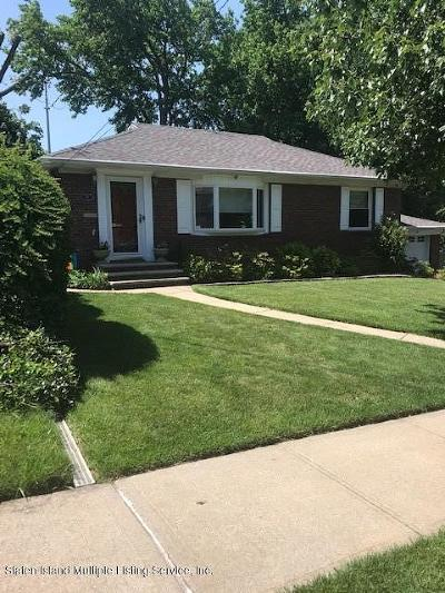 Single Family Home For Sale: 58 Potter Avenue