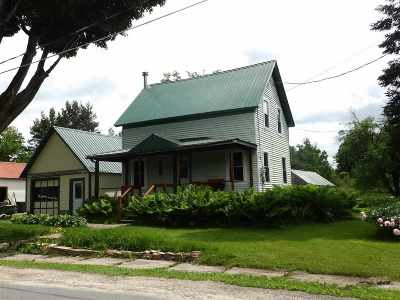 Canton NY Single Family Home For Sale: $75,000