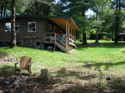 Cranberry Lake Waterfront For Sale: 255 D Lone Pine Rd.