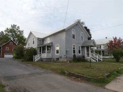 Gouverneur NY Single Family Home For Sale: $94,900