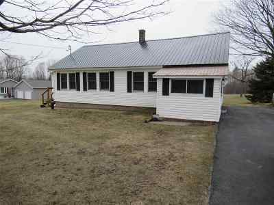 Norfolk NY Single Family Home For Sale: $64,900
