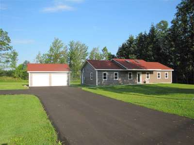 St Lawrence County Single Family Home For Sale: 396 Miner Street Road