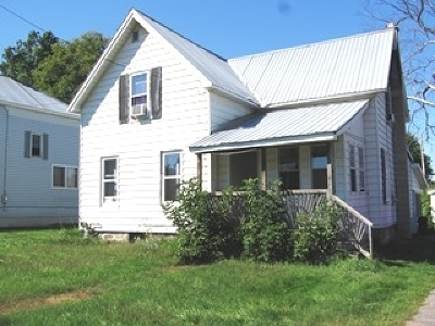 Norfolk NY Single Family Home For Sale: $39,900