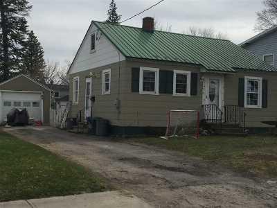 Massena Single Family Home For Sale: 20 Washington Street