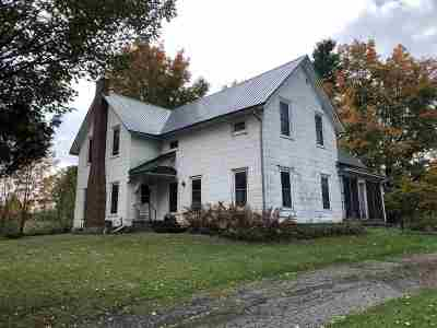 Canton NY Single Family Home For Sale: $134,000