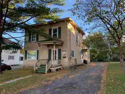 Massena Multi Family Home For Sale: 17 & 17 1/2 Parker Avenue