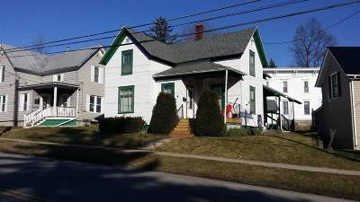 Canton NY Single Family Home For Sale: $91,900