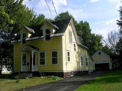 St Lawrence County Single Family Home For Sale: 17 Chestnut St