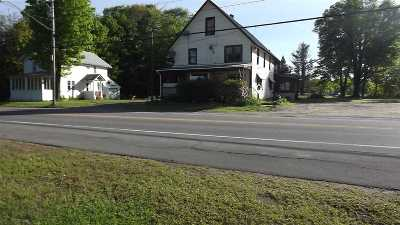 Cranberry Lake NY Single Family Home For Sale: $90,000