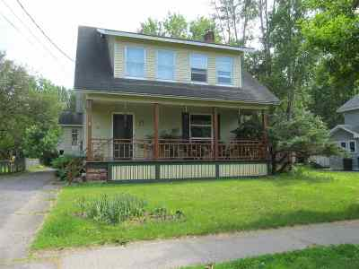 St Lawrence County Single Family Home For Sale: 35 Chestnut