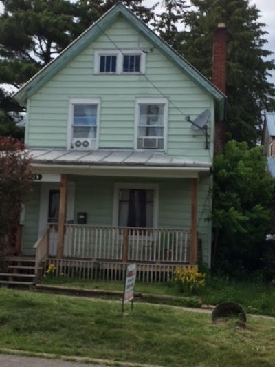 Ogdensburg NY Single Family Home For Sale: $30,000