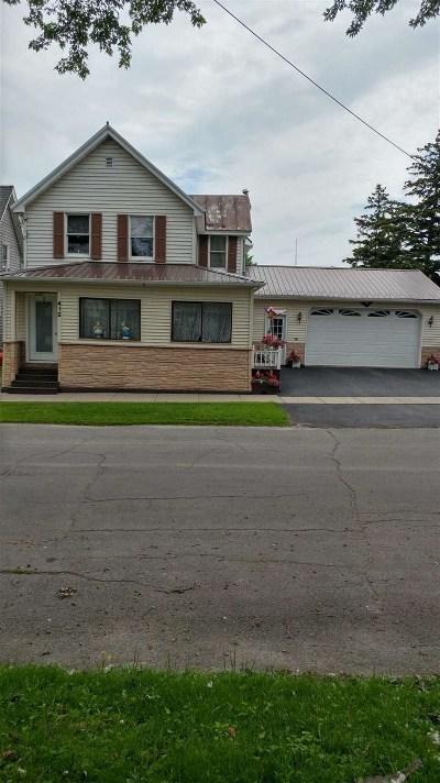 Ogdensburg NY Single Family Home For Sale: $95,000