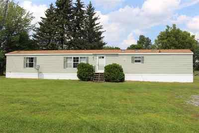 Potsdam NY Single Family Home For Sale: $60,000