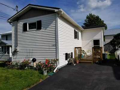 Ogdensburg NY Single Family Home For Sale: $64,500