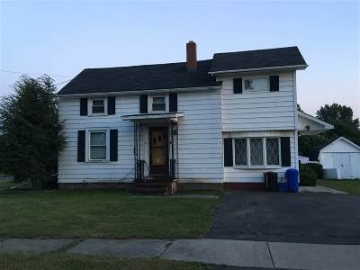 Massena Single Family Home For Sale: 9 Garfield Avenue