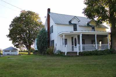 St Lawrence County Single Family Home For Sale: 3295 State Highway 68