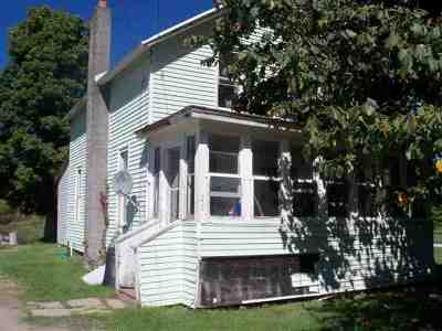 Gouverneur NY Single Family Home For Sale: $39,000