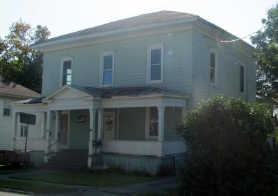Gouverneur NY Multi Family Home For Sale: $39,900