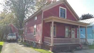 Ogdensburg NY Single Family Home For Sale: $64,900