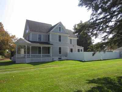 Potsdam NY Single Family Home For Sale: $208,000
