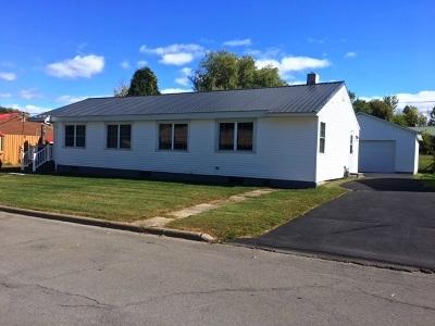 Massena Single Family Home For Sale: 293,294 Hubbard Road