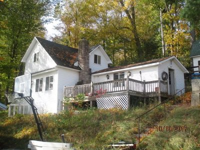 St Lawrence County Single Family Home For Sale: 418 North Shore Rd