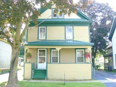 Ogdensburg Single Family Home For Sale: 415 Pleasant Avenue