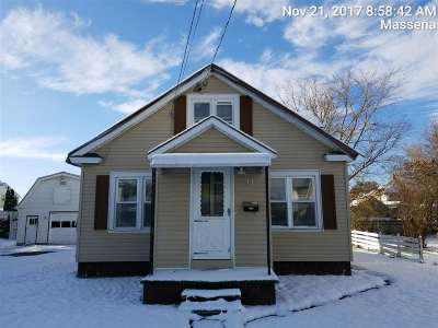 Massena Single Family Home For Sale: 15 Woodlawn