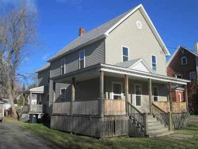 St Lawrence County Single Family Home For Sale: 10 Pleasant Street