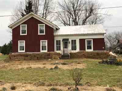 Single Family Home For Sale: 32711 Macomb Settlement Road