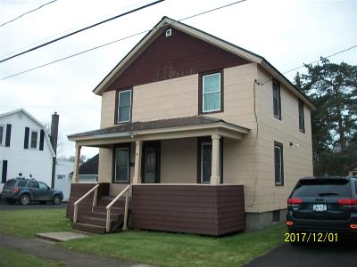 St Lawrence County Single Family Home For Sale: 4 Clough Street