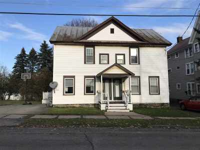 Ogdensburg NY Multi Family Home For Sale: $59,900