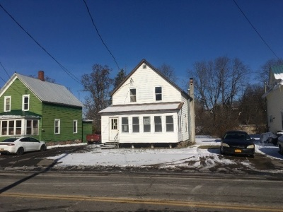 Norfolk NY Single Family Home For Sale: $17,900
