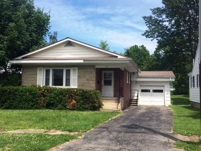 Massena Single Family Home For Sale: 33 Walnut Avenue
