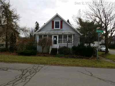 Ogdensburg NY Single Family Home For Sale: $49,900