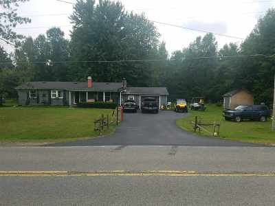 Ogdensburg NY Single Family Home For Sale: $142,900