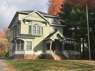 St Lawrence County Single Family Home For Sale: 20 Pleasant St.