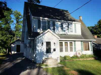 Massena Single Family Home For Sale: 14 Hillcrest Ave
