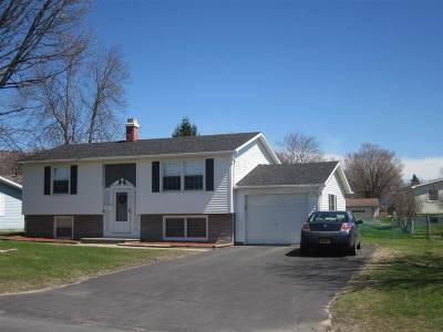 Massena Single Family Home For Sale: 79 Nightengale Avenue