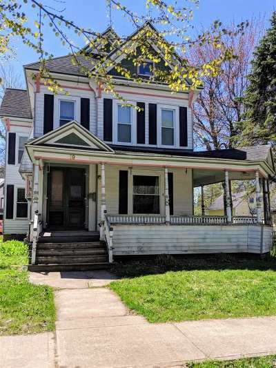 St Lawrence County Single Family Home For Sale: 19 Chestnut Street