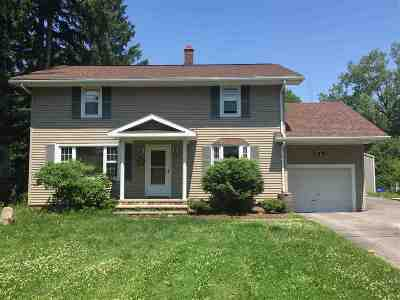 St Lawrence County Single Family Home For Sale: 1911 Morley Potsdam Rd