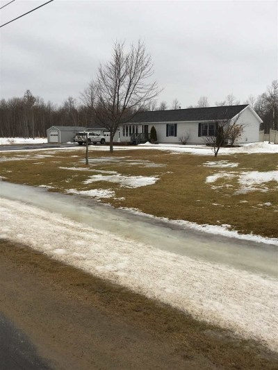 Brasher Falls NY Single Family Home For Sale: $209,000