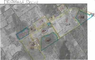 Lisbon Residential Lots & Land For Sale: Tracy & Moran Rd