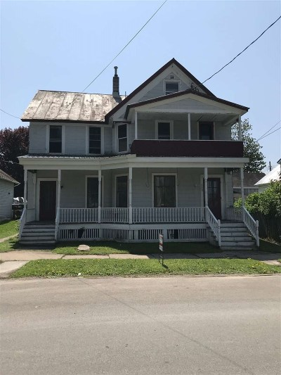 Ogdensburg Multi Family Home For Sale: 118 Ogden Street