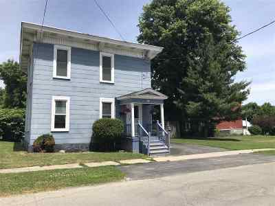 Ogdensburg Single Family Home For Sale: 9 Oak Street