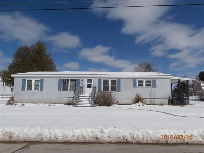 Ogdensburg NY Single Family Home For Sale: $84,900